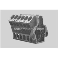 Diesel Engine Body Of Iron Casting