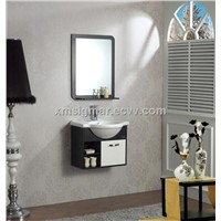 Elegant Wall Hang Cabinet Design with Ceramic Wash