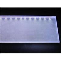 Engraving polystyrene light guide plate