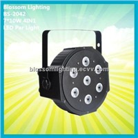 Flat 7*10W 4IN1 LED Par Can Light (BS-2042)