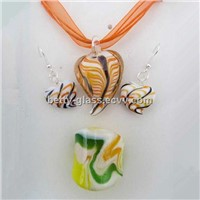 Glazed Glass Beads China Supplier Heart Shaped Glass Beads