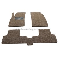 Good Quality Dot Backing Full Set PVC Coil car mat
