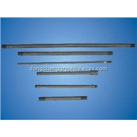 Graphite heating tube rod for industrial furnace, vacuum furnace