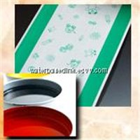 Gravure printing special water-based ink for diaper permeable film