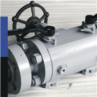 High Pressure and Performance Cast Steel Double Block and Bleed Ball Valve