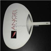 High Quality Eco-friendly PP Fan/ PP Fans/ PP Plastic Fan/ PP advertized fans