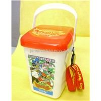High Quality  Popcorn Bucket with New Designs, Smart printings and colour ,OEM service