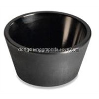 High quality graphite crucible processing factory  china