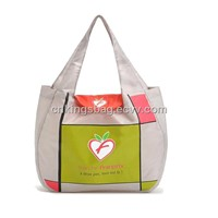 High Quality Polyester Foldable Shopping Bag, Promotional Gift Shopping Bag with Plastic Hook