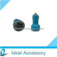 Hot Selling Dual USB Car Charger Adapter with 2 Ports 5v 1a/2.1a for Iphone,Ipad,Samsung Etc