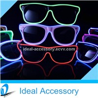 Hot Selling Ray-ban/Wayfarer Style El flashing Glasses/Sunglasses Grow amazing in Dark