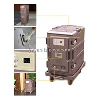 Hotel supply 116L insulated cabinet with power ( 3 pins plug )
