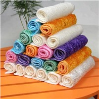 Household Cleaning Cloth of Bamboo Fiber Dish Cloth