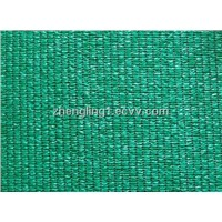 Knitted shade cloth fabric for outdoor shade