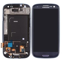 LCD Screen and Touch Screen Digitizer with Front Housing for Samsung GalaxyS3  Gt-I9300 Mobile Phone