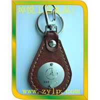 Leather keychain keyring for cars 2014 latest fashion