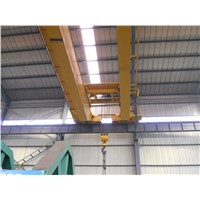 Light duty electric hoist double beam bridge Crane