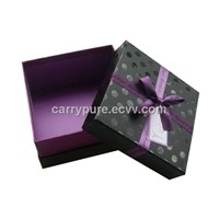 Luxury Cardboard Gift Box with Ribbon