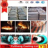 Manganese Steel Cement Grind Mill Liner Plate