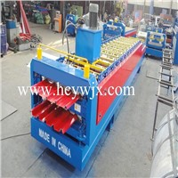 Metal roofing profile roll forming machine