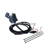 Motorcycle USB Charger Kit, USB socket for motorbike