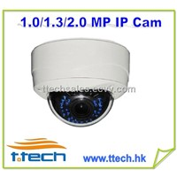 Network camera,ip camera, ir ip dome camera, vandalproof ip camera