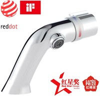 New fashion Hot and cold water all-brass wash basin faucets win iF design award & Red Dot award