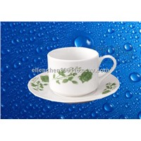 Porcelain Coffee Cup & Saucer Sets,SA8000,SMETA Sedex/BRC/ISO Audit Factory