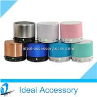 Portable Bluetooth Mini Handsfree Speaker 10 Colors Available Mini Speakers S10 Quality Warranty