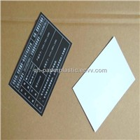 QH-BMT-025 PVC Sticker/ PVC Panel Sticker for Machine Euipment