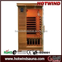 Red Cedar Infrared Sauna for 1 Person