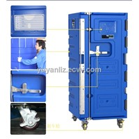 SCC 580Ltr  Insulated Roll Cabinet, logistic cooler cabinet