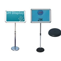 Single Sided Telescopic Notice Board