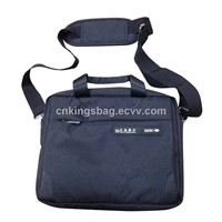 Small Size Black Nylon Men Message Bag,Man Business Bag with Adjustable Strap,Ipad or Laptop