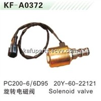 Solenoid Valve PC200-6 6D95 rotating for Excavator 20Y-60-22121