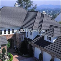 Stone Coated Metal Roof Tile / steel roofing shingle