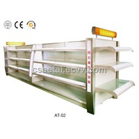 Supermarket shelf,gondola style,AT-02,cheaper price but not cheaper cost