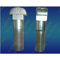 T-bolts for railway parts