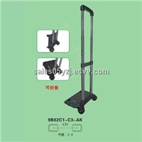 Telescopic trolley handle luggage trolley handle