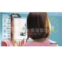 Touch display Projector glass