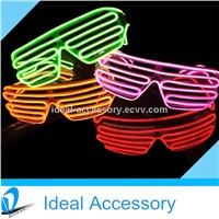 Unique Design Shutter Style El Wire Growing Glasses For Party Favors Popular El Wire Grow Glasses