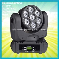Nightclub Lighting Updated 7*10W 4IN1 LED Moving Head Beam Light (BS-1024)