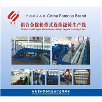 Wheel - Belt Type Aluminum (Alloy) Ingots Casting Line