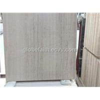 White Wood Vein Marble
