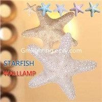 Wholesale Gypsum Starfish Cob LED Wall Lamp MR16 Halogen Wall lights