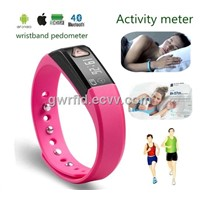 Wireless Wristband Bluetooth Pedometer