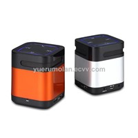 Wireless portable bluetooth speaker with TF card port and USB device ,FM Radio and card reader