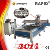 Wood Router CNC Carving Machine With Disc Type ATC