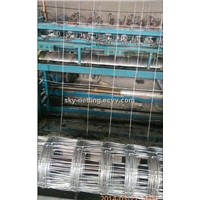 Woven Wire Field Fence Stretching Field Fence Wire Hinge Joint Farm Fence