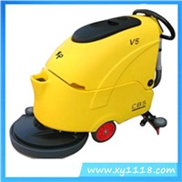 automatic scrubber floor cleaning machine